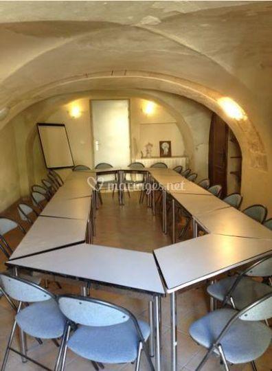 Petite salle de séminaire