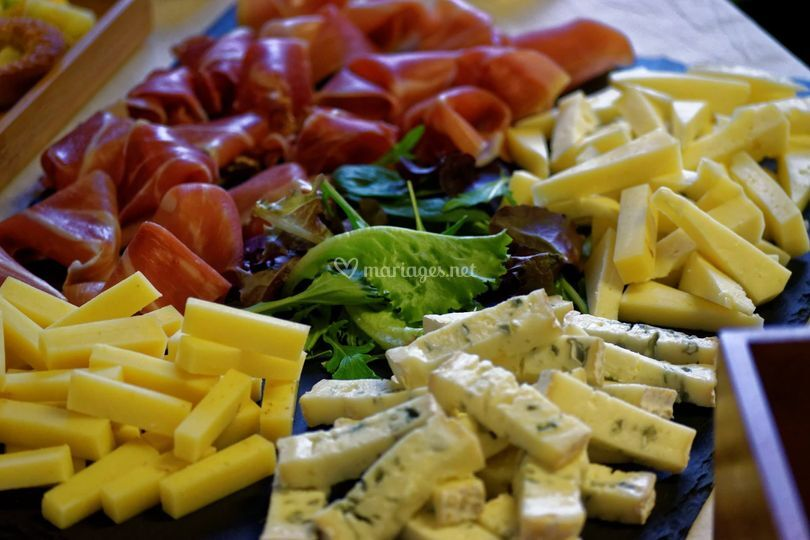 Plateau fromage/charcuterie