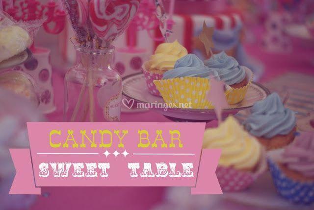 Confection de sweet tables