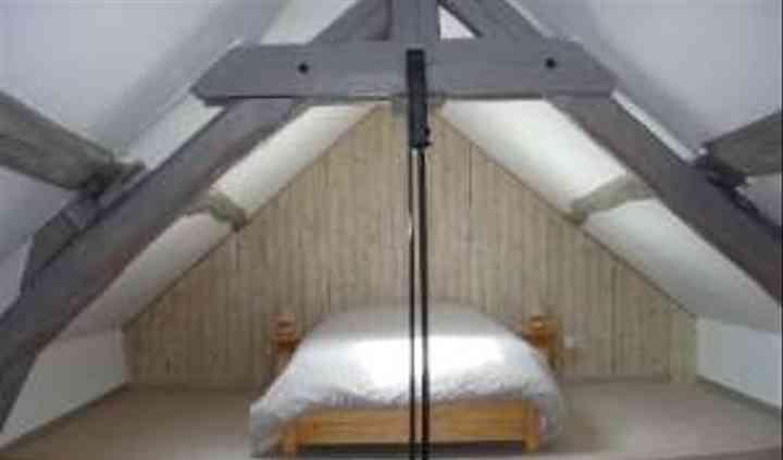 Une chambre au hébergement