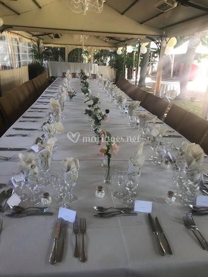 Table américaine mariage