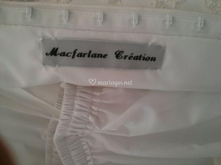 Macfarlane création