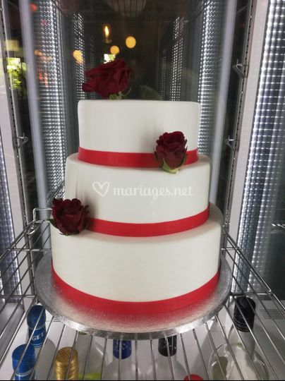 Wedding blanc et rouge