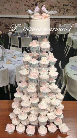 Vintage Cake Cupcakes De L Instant Gourmand Wedding Cake