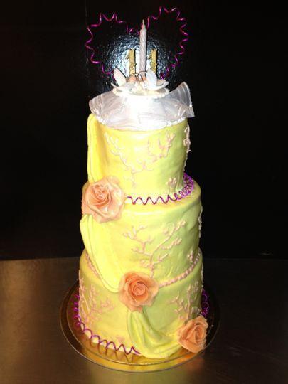 Wedding cake noces de corail