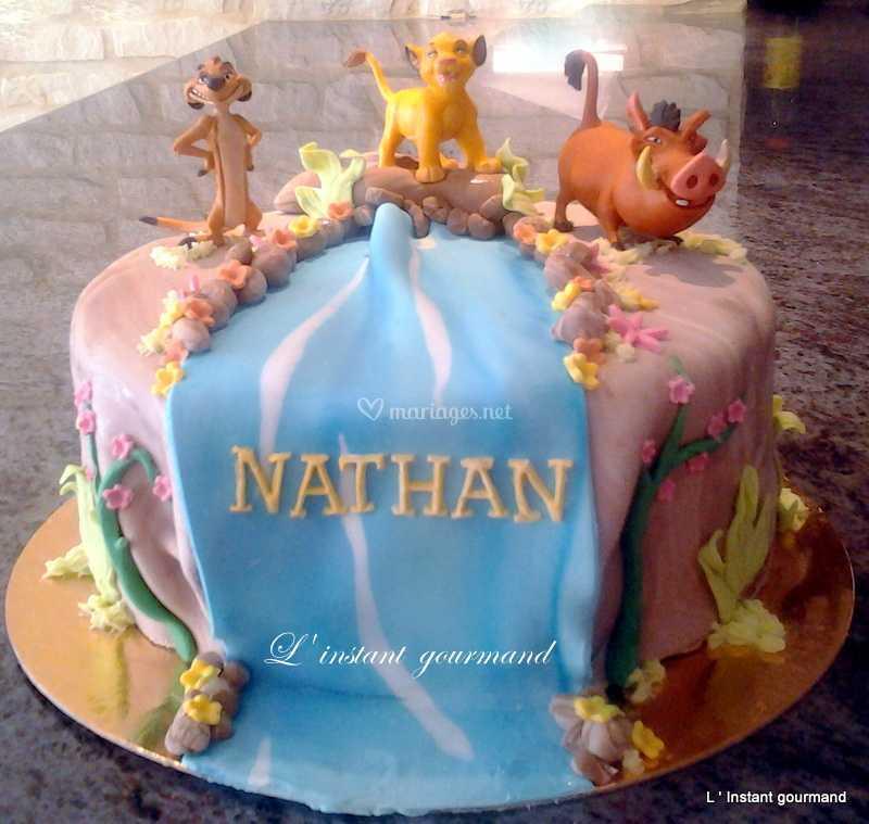 Le Roi Lion De L Instant Gourmand Wedding Cake Designer Photo 70