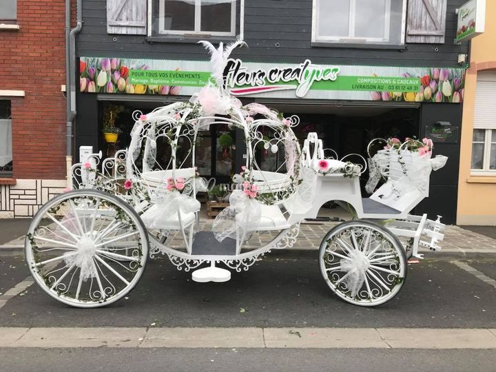 Mariage en Carrosse Cendrillon