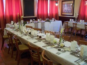 Salle Réception Table en U