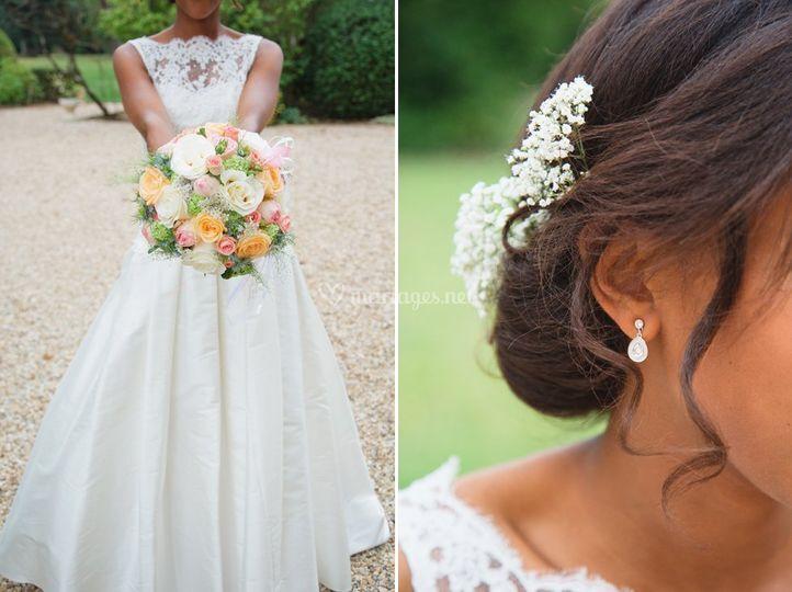 La mariée - détails