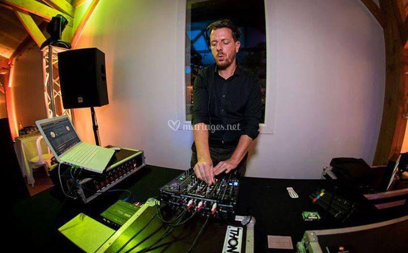 Jean-Charles, votre DJ