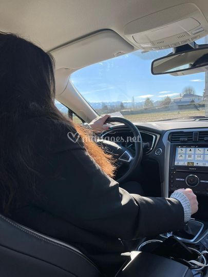 Amélie chauffeur privé