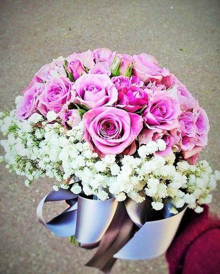 La Broc&Fleurs: Bouquet rond