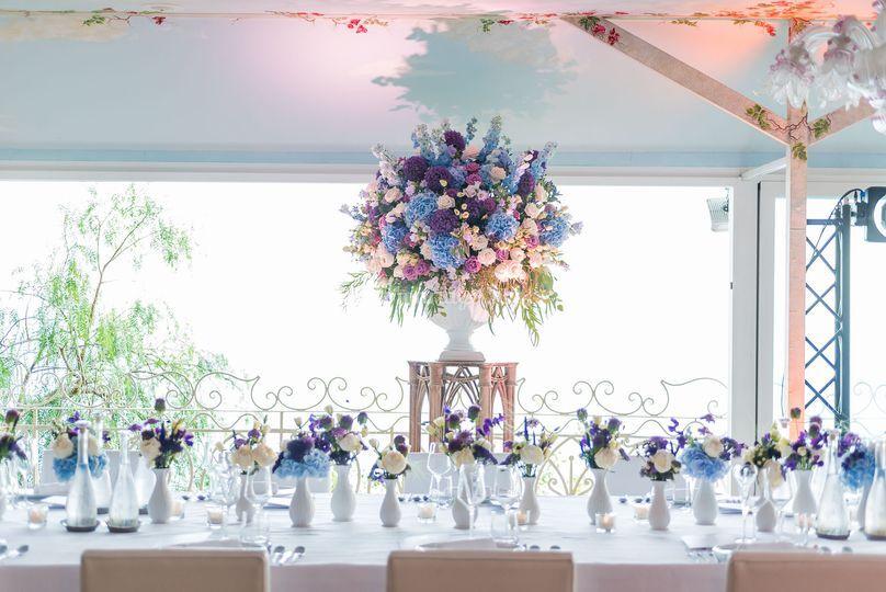 La Broc&Fleurs: bleu