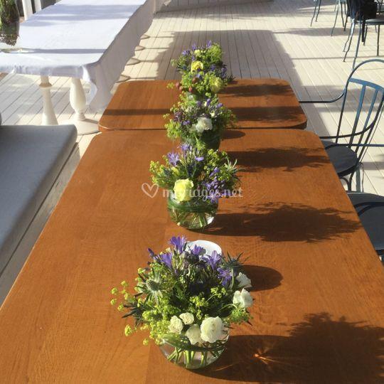 La Broc&Fleurs: vases ronds