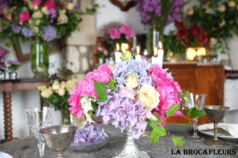La Broc&Fleurs: coupe fleurie