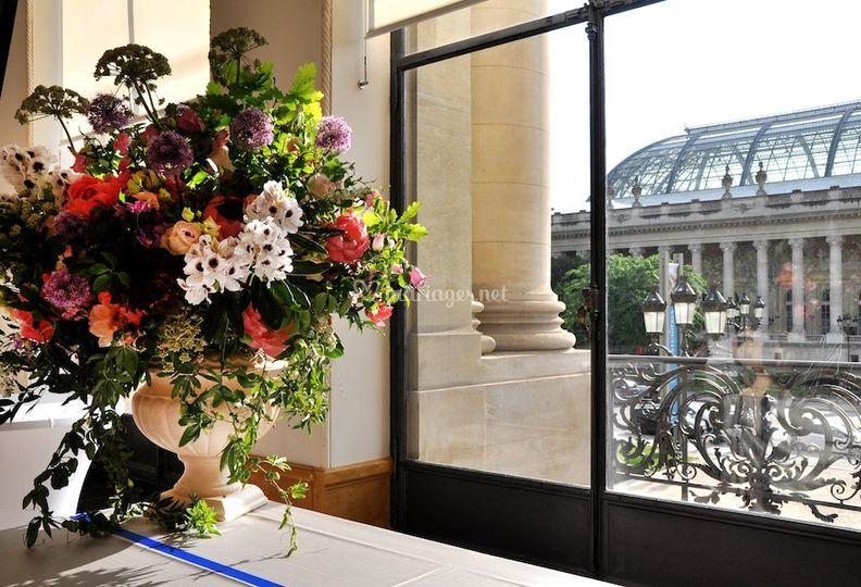 La Broc&Fleurs : motif