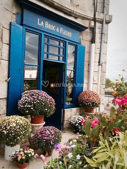 La Broc&Fleurs: La boutique