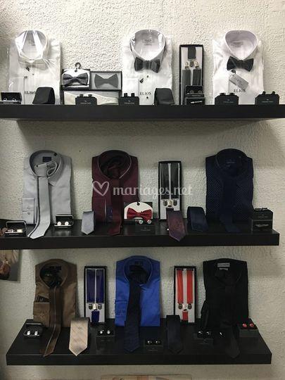 Chemises et accessoires