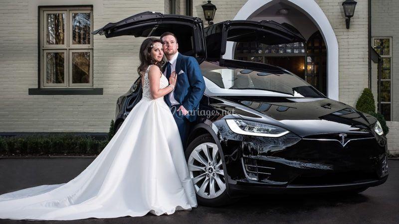 Mariage Tesla X noir Lannister