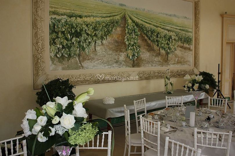 Salle pendant mariage