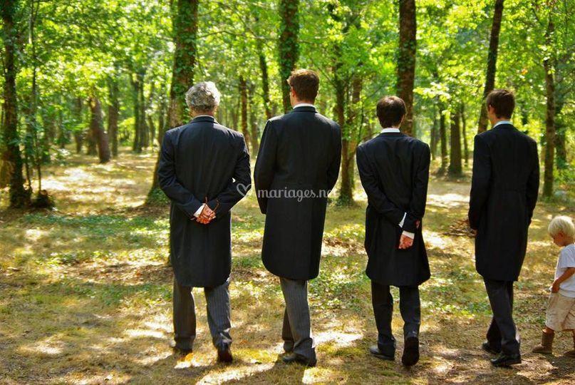 Le marié et ses frères