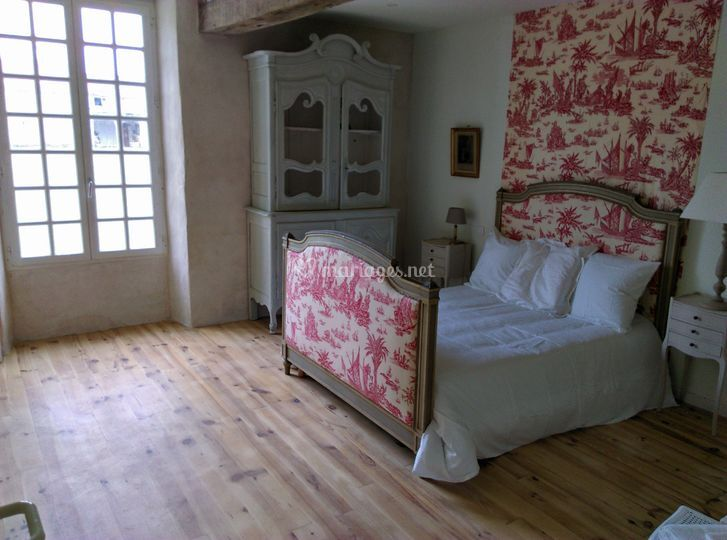 Gîte : chambre Lafayette