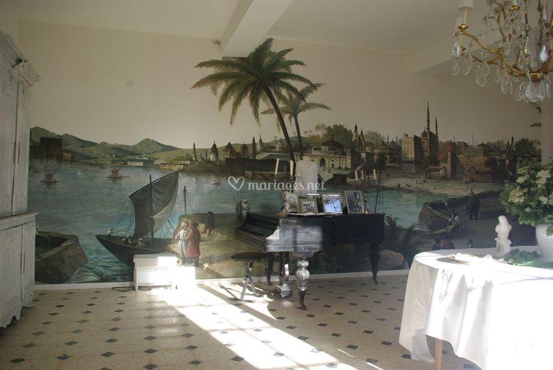 Le salon au piano