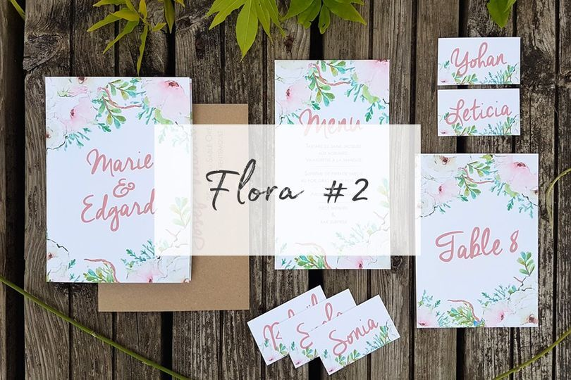 Collection flora