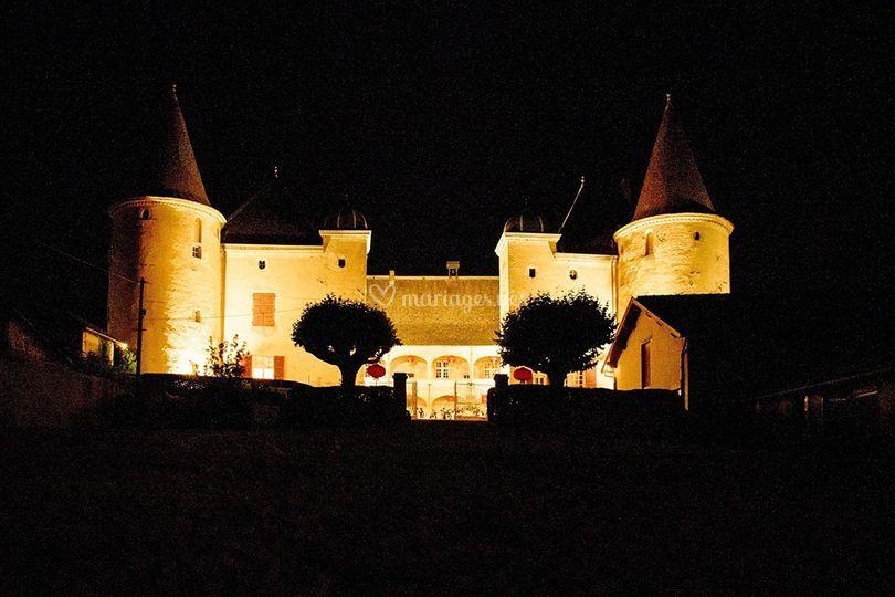 Château de Varennes, face