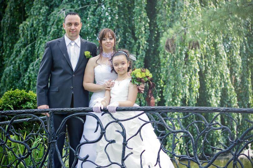 Yannick, Virginie et leur fille