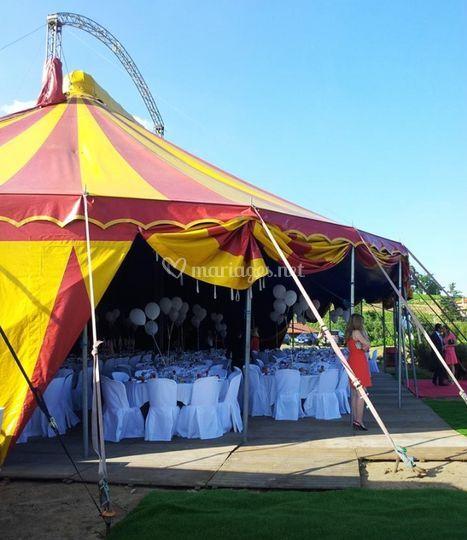 Location de cirque