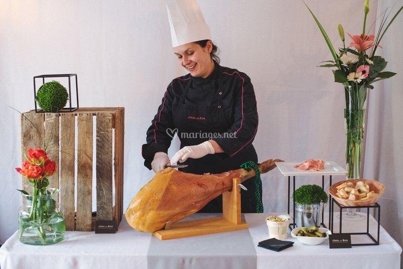 Atelier Découpe de Jambon
