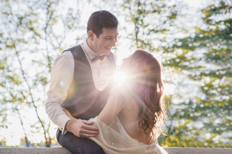 Mariés lumineux