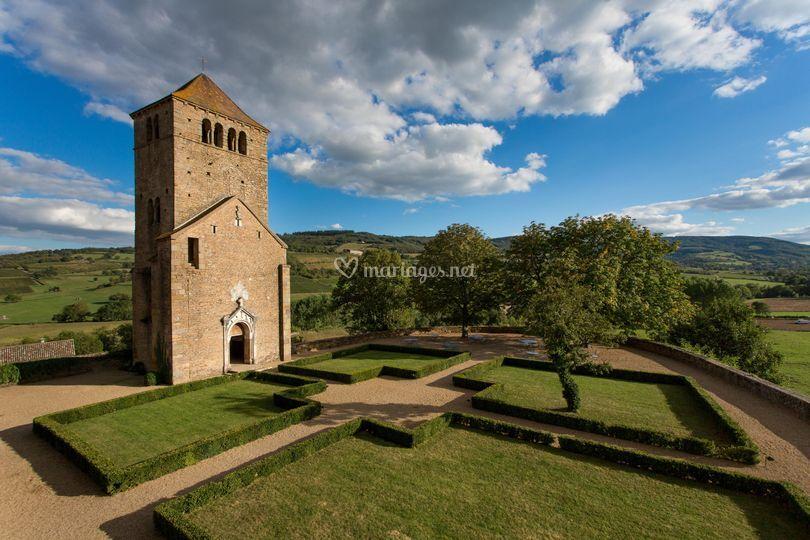 Chapelle sur la terrasse sud