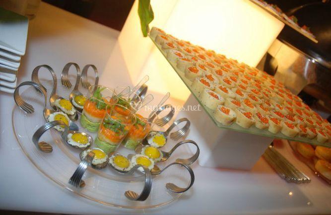 Buffet delicatessen