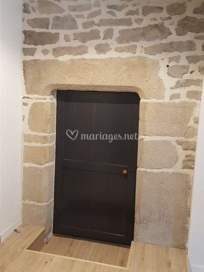 Porte chambre mariés