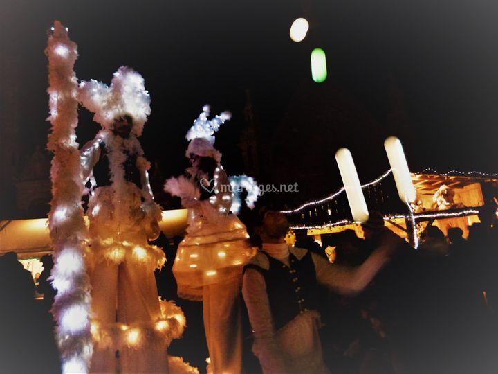 Echassier blanc de nuit