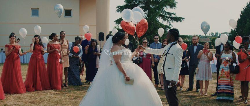Une vidéo pour les mariés