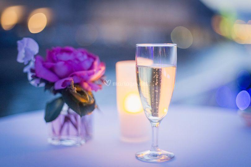 Champagne sur pont Evasion