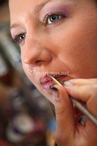 Photo du maquillage