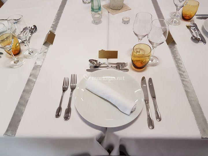 Table d'un mariage 2016