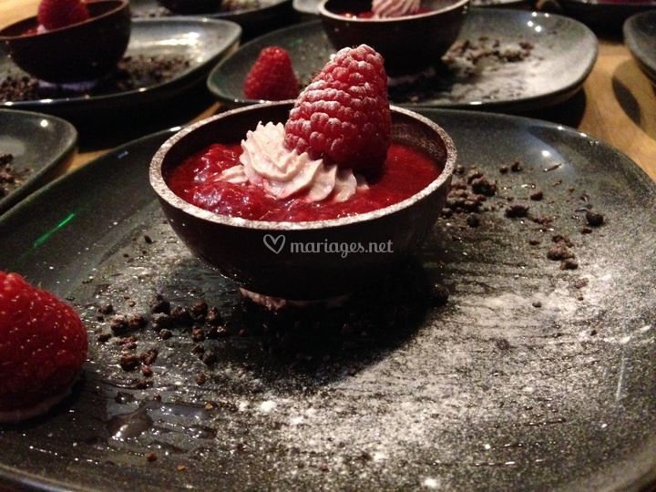 Dessert assiette