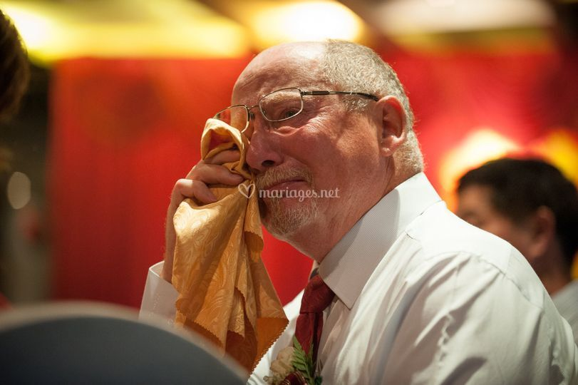 Les larmes du père