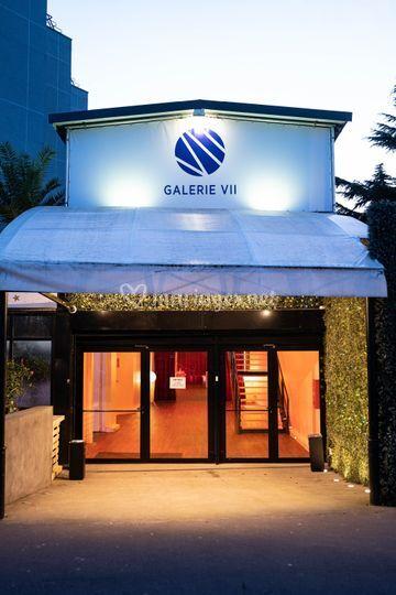 La Galerie VII -  Entrée