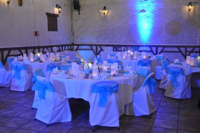 Éclairage décoration mariage
