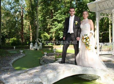 Mariés au moulin