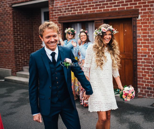 Mariage civil en Normandie