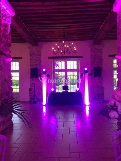 Mariage salle Orée du Plessis