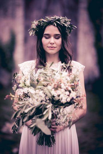 Mariage étranger fleur Claire