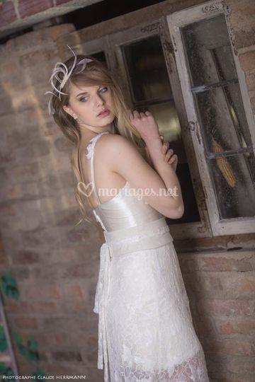Robe de mariée bohême Galane